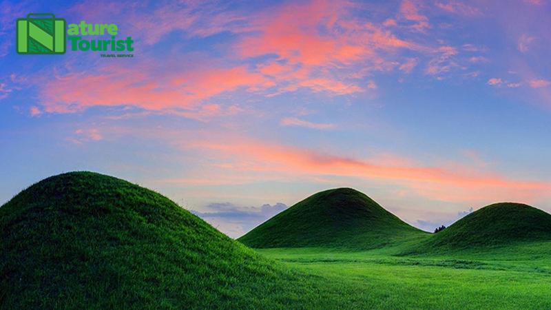 Gobungung, Changyeong với thảm cỏ phủ xanh cả một vùng