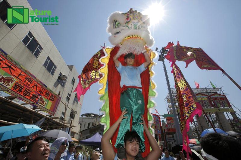 Lễ hội bánh bao náo nhiệt ở Hồng Kông