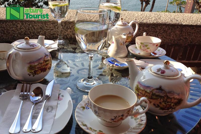 Thưởng trà và ngắm khung cảnh tuyệt đẹp của Cao Hùng