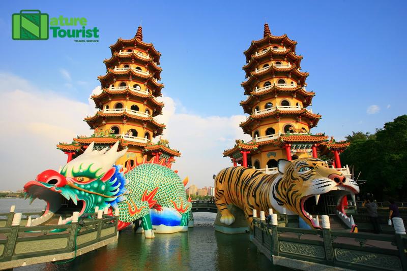 Đầm Liên Trì – biểu tượng kiến trúc của Đài Loan